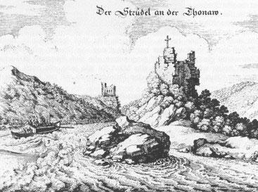 Donau, Strudel, Struden, Schiffahrt, Gefahr, Fluss, Flussreisen
