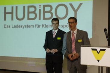 W.A. de Vigier Award 2006, HUBiBOY, das Verladesystem für Kleintransporter, Dominik & Roger Stauffer