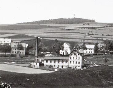 Die Fabrik 1914 Quelle: Deutsche Fotothek