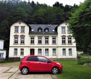Das ehemalige Wohnhaus der Gebr. Uhlig 2018