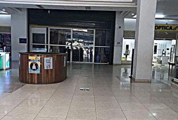 Il supermercato Tuskys all'interno dell'Oasis Mall di Lamu Road a Malindi