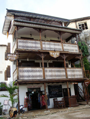 Tatu Pub, Restaurant and Whisky Bar. Stone Town Zanzibar