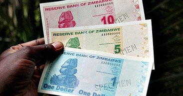 Nuove banconote introdotte a febbraio 2019 dallo Zimbabwe