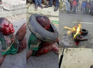 Bambino di 7 anni catturato, picchiato e bruciato vivo per furto nello stato di Lagos