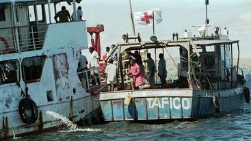 Nel 1996, morirono più di 500 persone  quando un traghetto affondò vicino a Mwanza sul Lago Vittoria