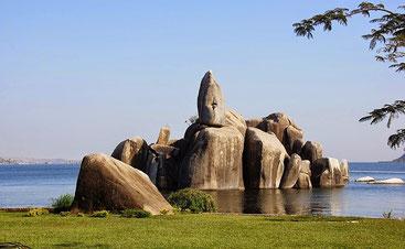 Bismarck Rock - Lago Vittoria a Mwanza, Tanzania