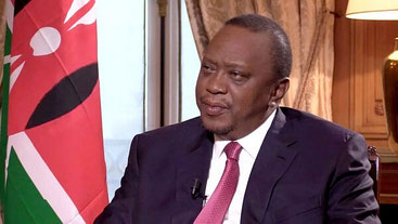 Uhuru Kenyatta, presidente del Kenya.