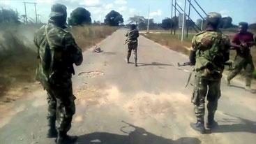 Esecuzione a Cabo Delgado