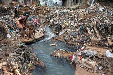 Kroo Bay a Freetown in  Sierra Leone