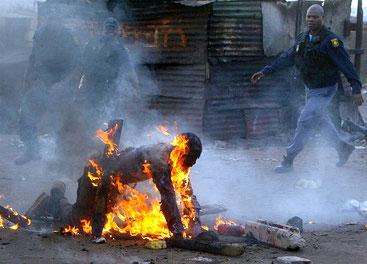 Un immigrato non gradito a Johannesburg