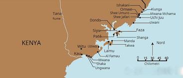 Costa settentrionale del Kenya