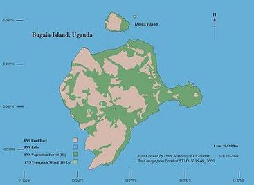 Isola di Bugaia - Lago Vittoria, Uganda