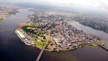 Mombasa, Kenya - Aerial view