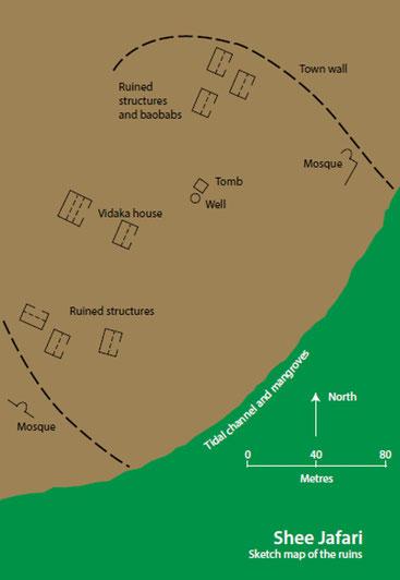 Mappa di Shee Jafari