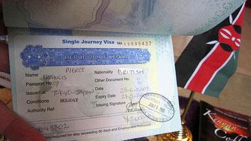 Il visto di ingresso singolo