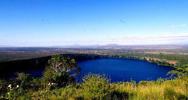 Il lago craterico Chala