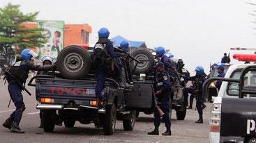 Forze dell'ordine dell'Angola a caccia degli stranieri