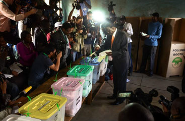 Elezioni Presidenziali Kenya 2017