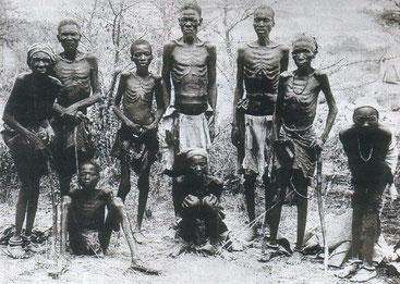Herero sopravissuti. Namibia