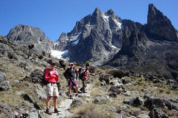 Trekking sul Monte Kenya