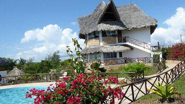 La Winny House di Watamu, dove la coppia di Macerata svolgeva la propria attività turistica