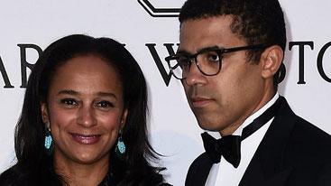 Isabel dos Santos, figlia dell'ex presidente angolano e il marito Sandika Dokolo
