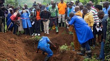 Fosse comuni in Burundi