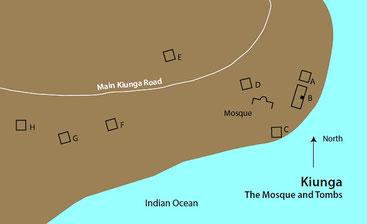 Mappa di Kiunga