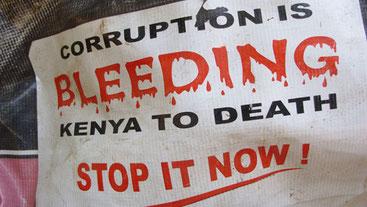 Corruzione in Kenya