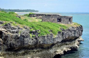 Fort St. Joseph. Mombasa