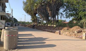 Silversand road, Malindi