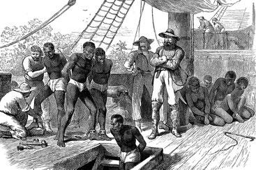 La tratta degli schiavi dall'Africa alle Americhe