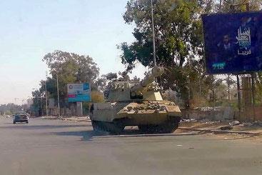 La marcia su Tripoli della Settima brigata