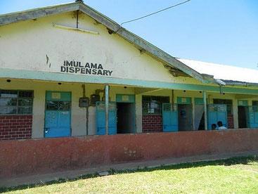 Un dipensario medico in Kenya