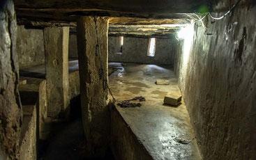 Luogo di detenzione degli schiavi.  Ostello di Santa Monica Stone Town Zanzibar