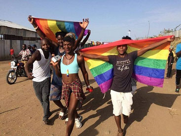 "Sfilata del ""gay pride"" in Kenya"