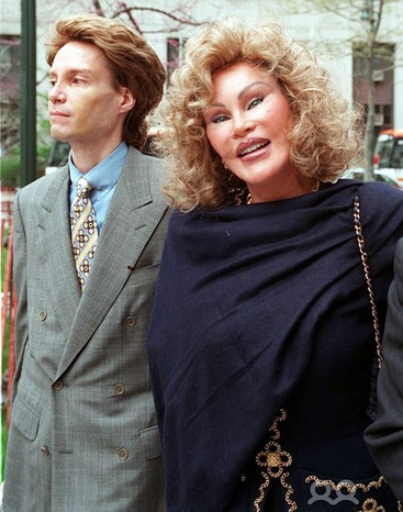 Alec Wildenstein Junior con la madre Jocelyn Wildestein
