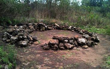 Neolithic and Iron Age prehistoric site at Hyrax Hill, Nakuru