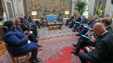 La delegazione italiana e quella del Kenya, alla ratifica dell'accordo sull'estradizione