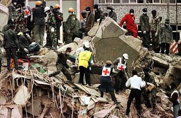 Ambasciata americana in Kenya, dopo l'attentato del 1998