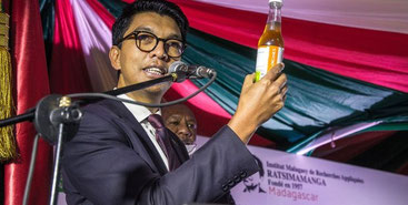 Andry Rajoelina, presidente del Madagascar