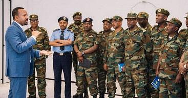 Il primo ministro dell'Etiopia, Abiy Ahmed invia l'esercito per arginare conflitti etnici