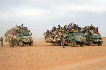 Migranti in viaggio