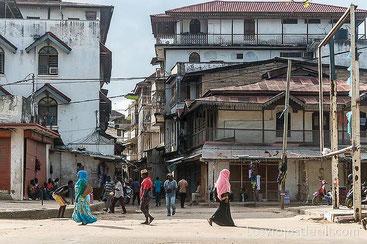Le vie di Stone Town-Zanzibar