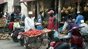 Darajani Market. Stone Town Zanzibar