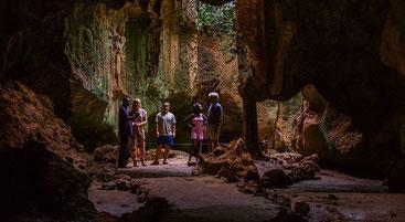 Grotte degli schiavi a Shimoni