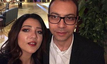 Amal Fathy con il marito Mohamed Lotfy