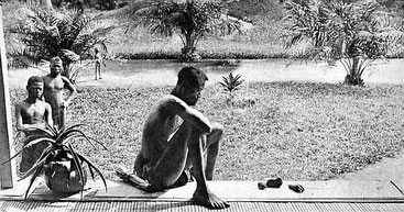 Nsala, con i resti della figlioletta