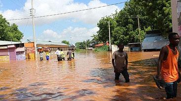 Inondazioni in tutto il Kenya