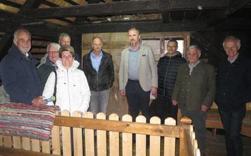 Mitglieder der Bezirksveranstaltung mit unserem Führer Helmut Auerbach